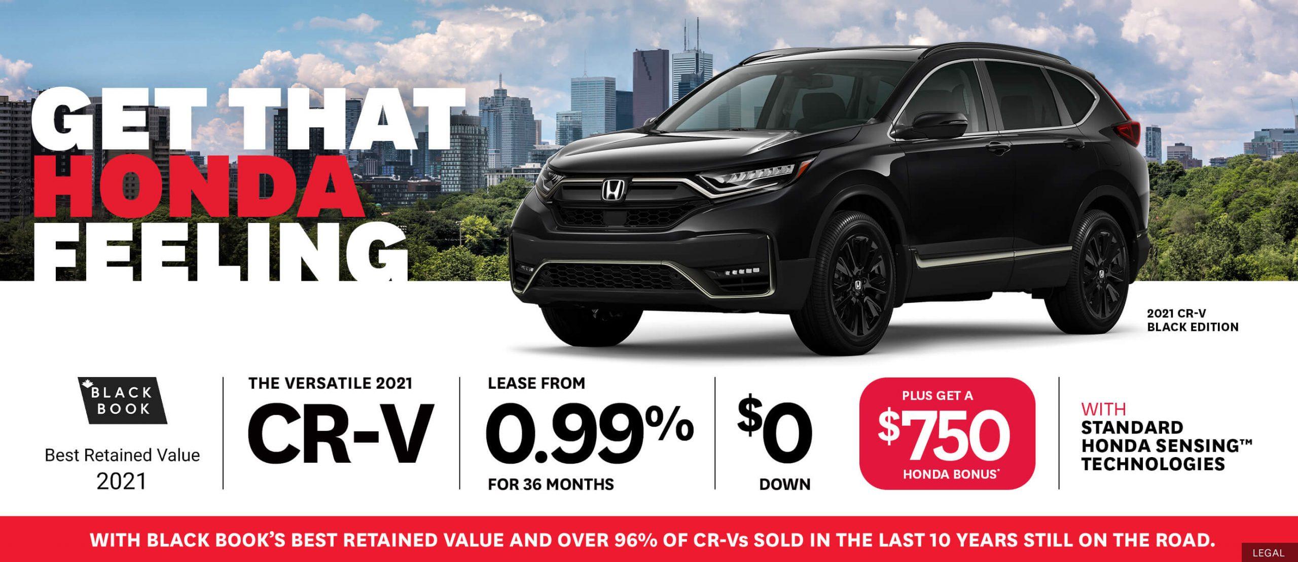 Honda CRV Deals!