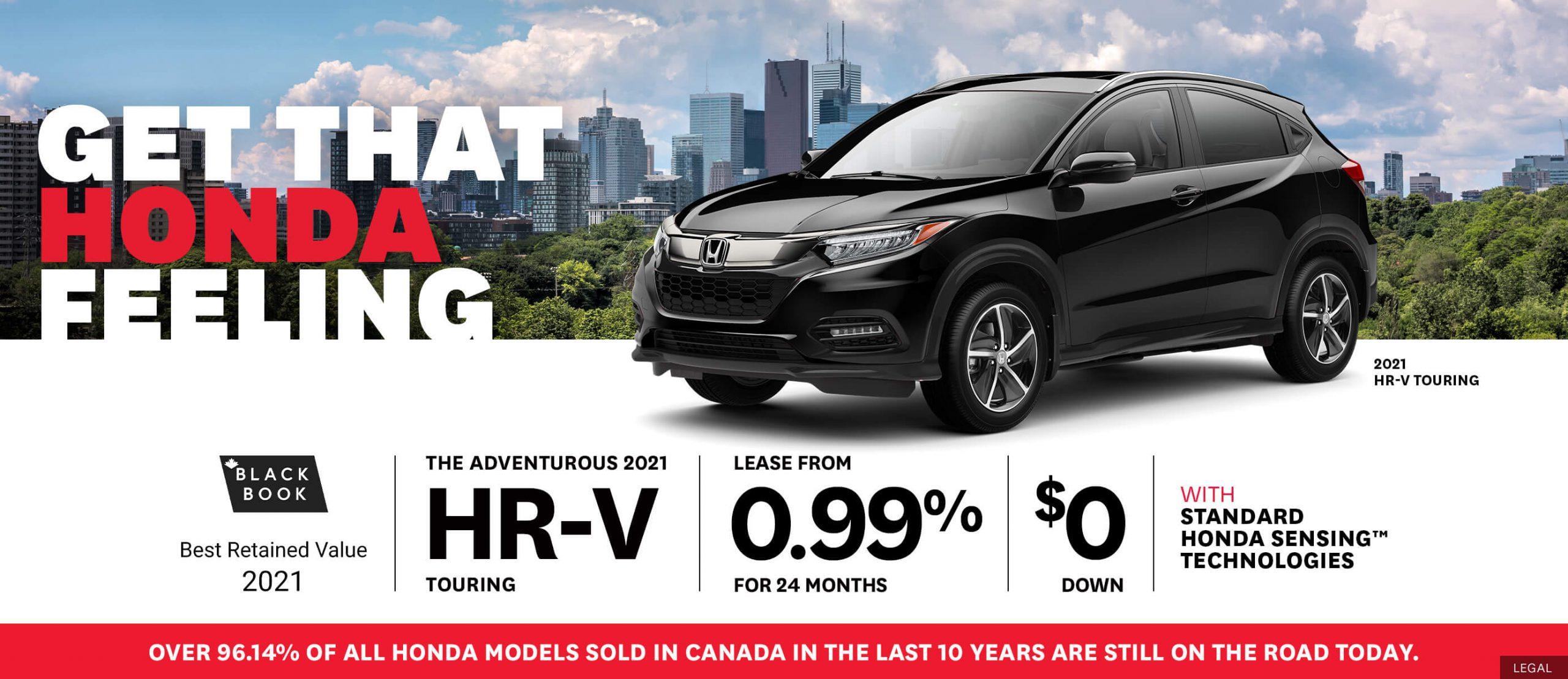 Honda HRV Deals!
