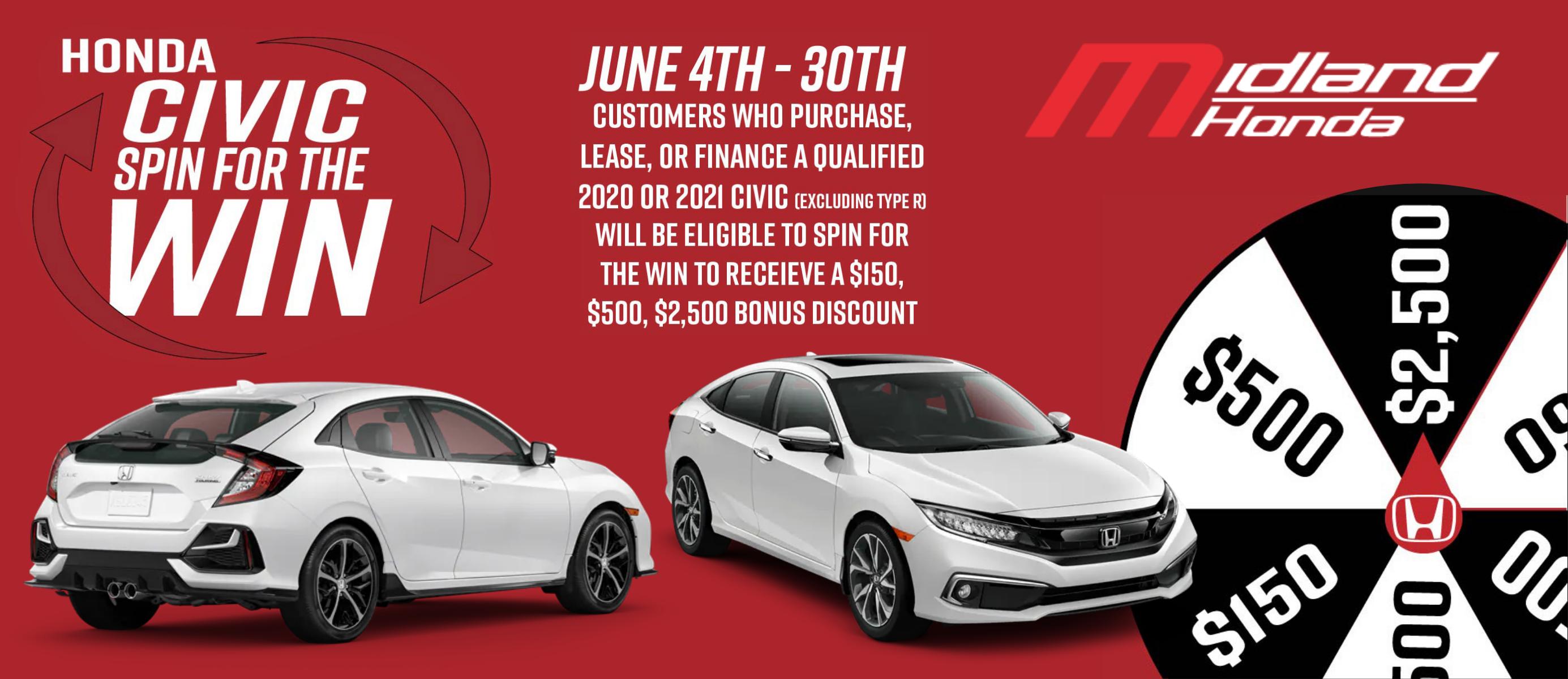 Honda Civic Deals!