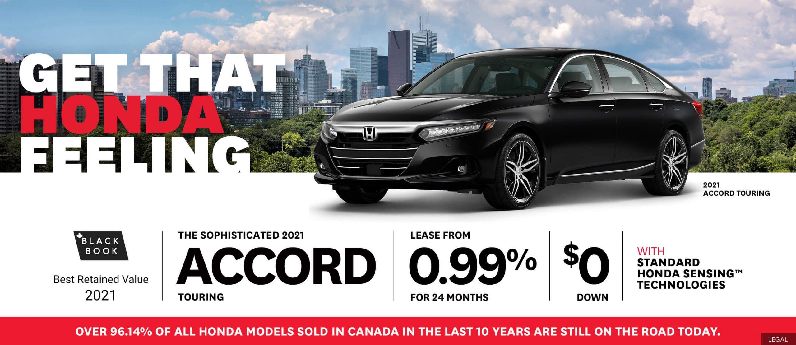 Honda Accord Deals!