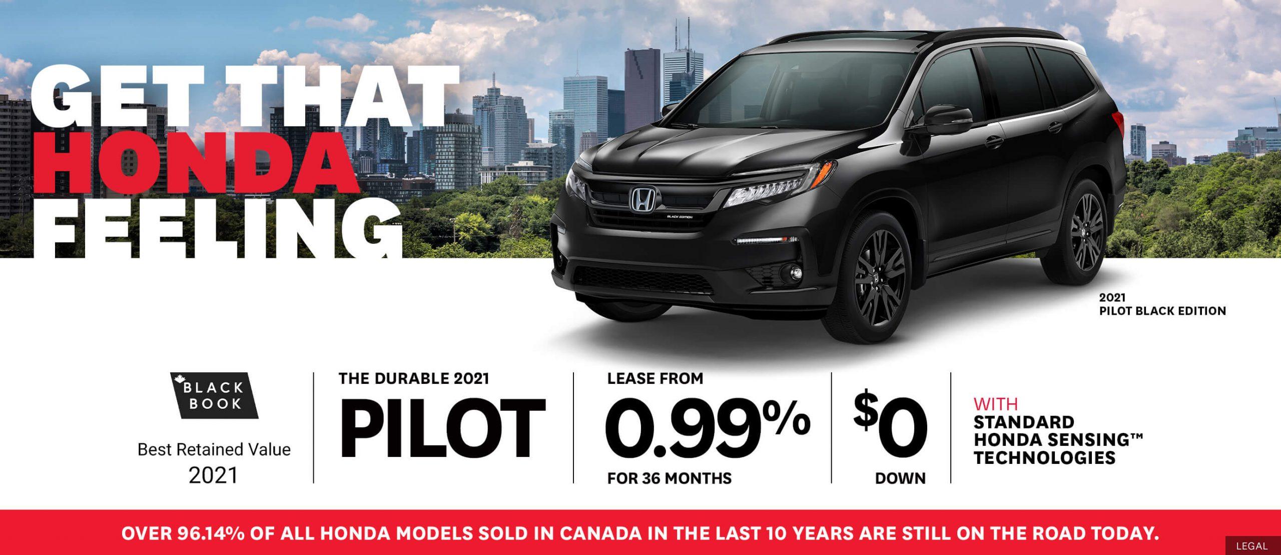 Honda Pilot Deals!