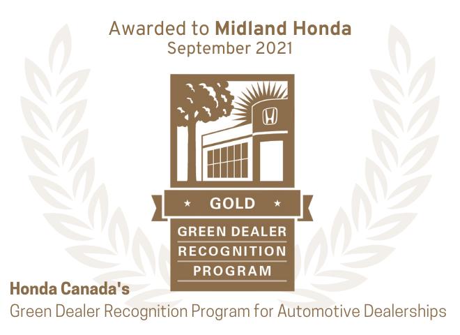 green dealer award