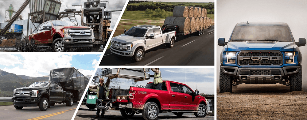 Ford F-150 Towing Collage