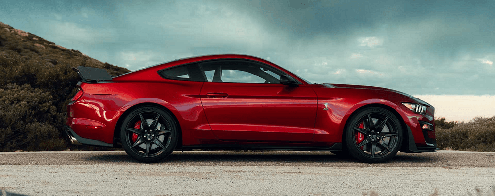 Ford Mustang Iconic Shape and Exterior Design