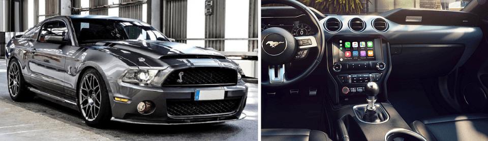 2020 Ford Mustang EcoBoost Premium plus its interior