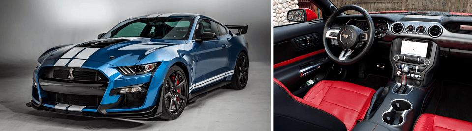 2020 ford mustang GT Premium Interior