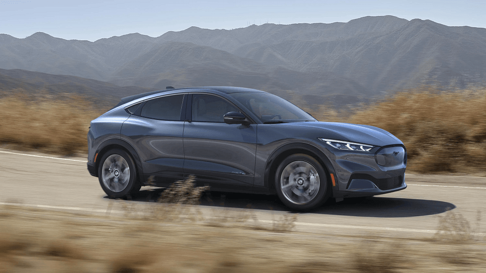 2021 Ford Mustang Mach-E Exterior Design Features