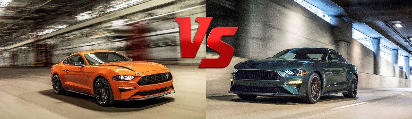 2020 Mustang GT vs Mustang Bullitt