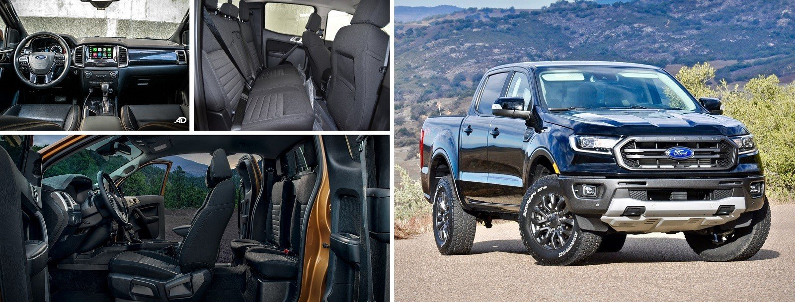 Ford Ranger 2020 interior and exterior