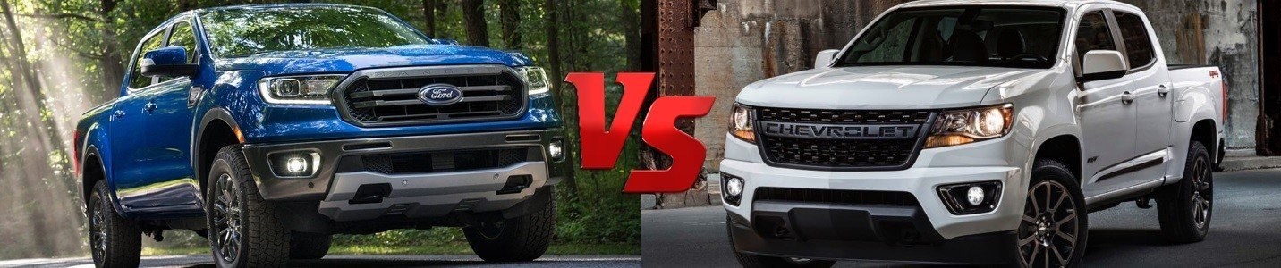 2020 ford ranger vs 2020 chevy colorado