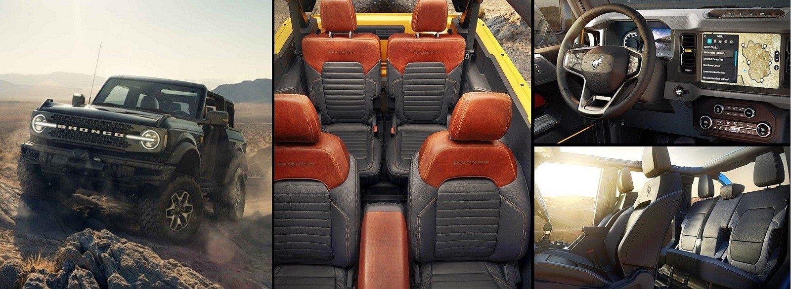 2021 Ford Bronco Interior and exterior design