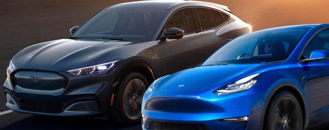 Ford Mach-E vs Tesla