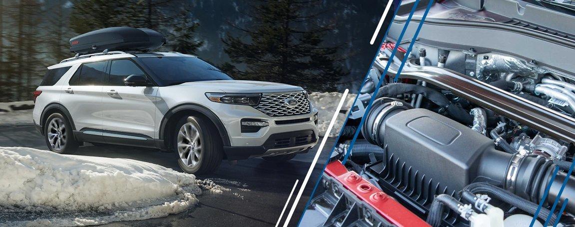Ford Explorer 2021   Performance and Power   Exterior Design