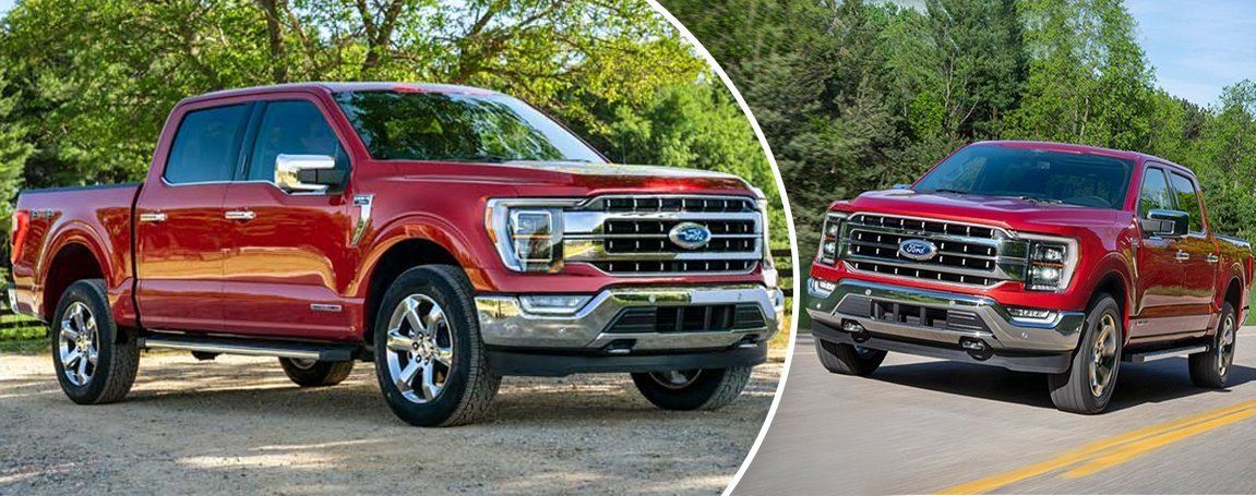 2021 Ford F-150   Prices and Trims   Exterior design