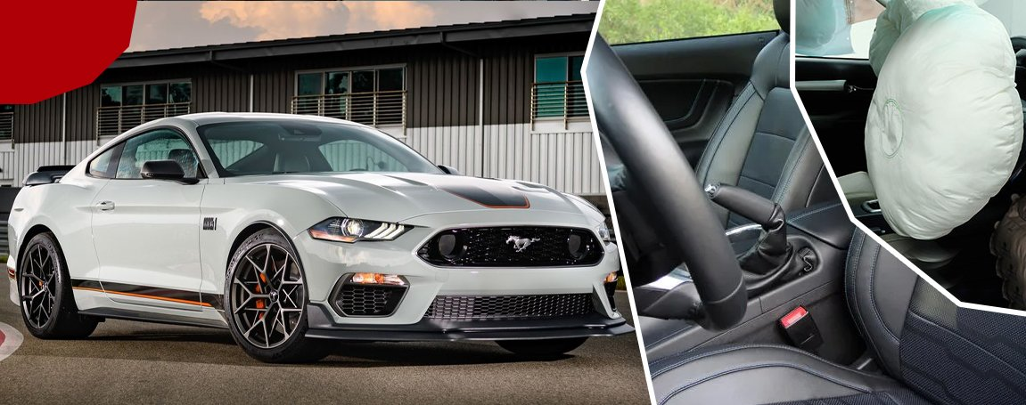 Ford Mustang GT   Excellent Safety Features