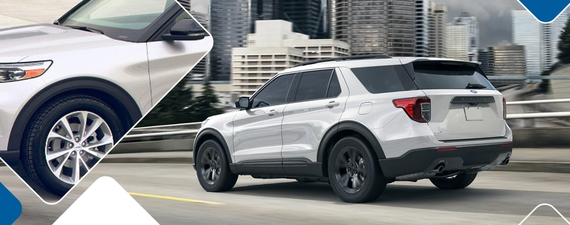 2021 Ford Explorer in Vancouver