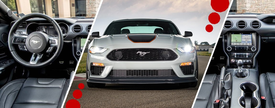 Ford Mustang GT   Exterior design   Infotainment features