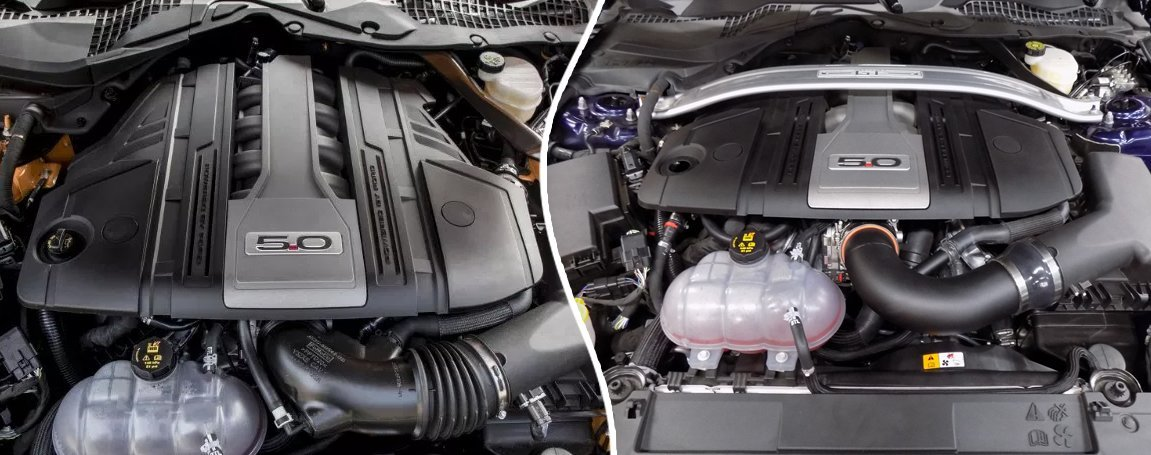 Mustang GT   Powerful Engine