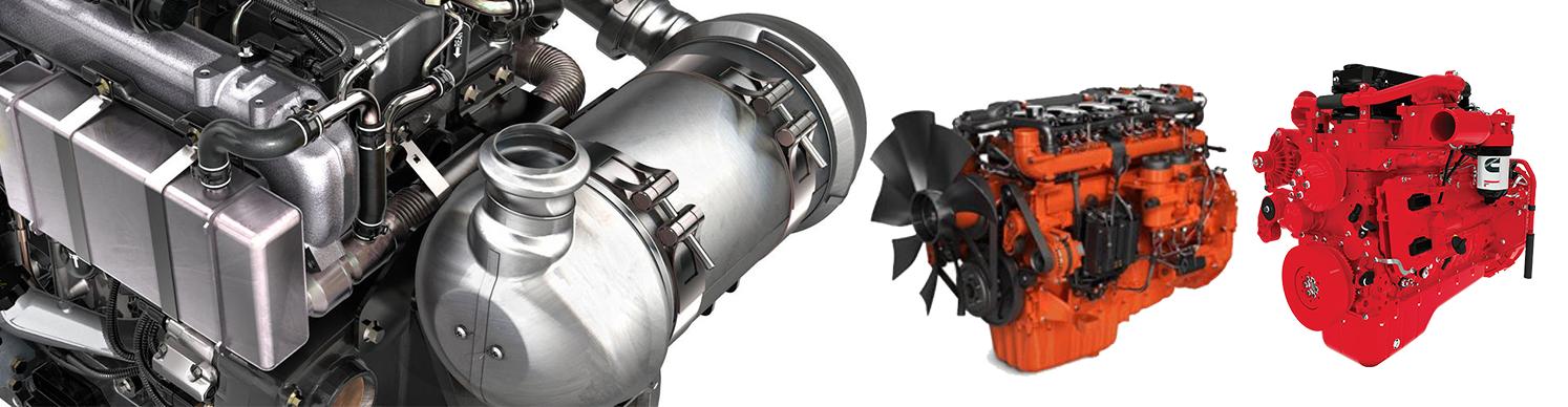 Engine, Turbo, Starter, Alternator