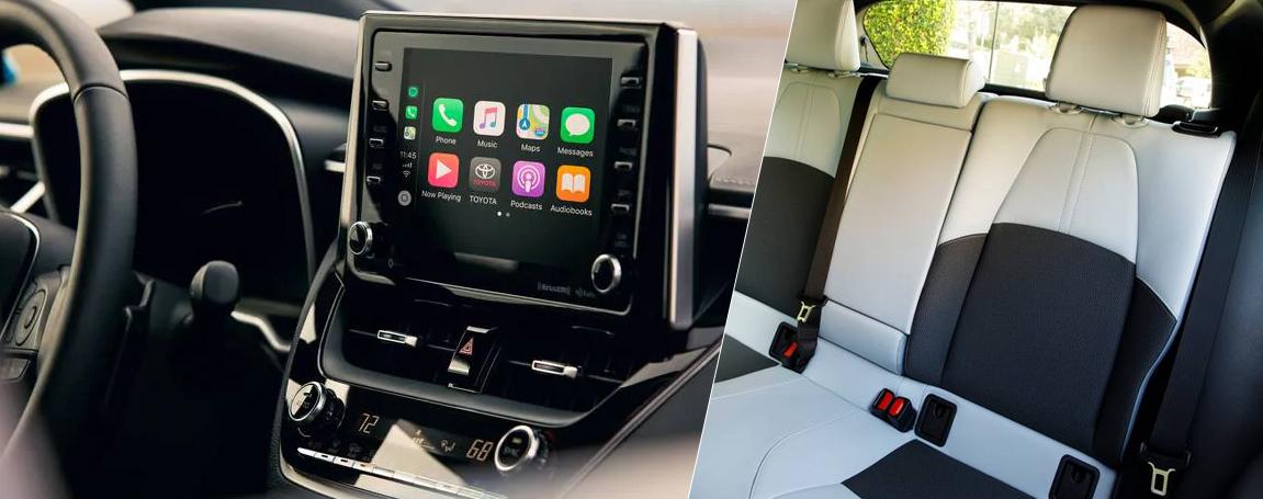2021 Toyota Corolla Hatchback - Equipment and fittings comfort guaranteed