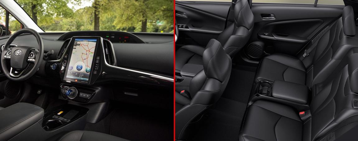 Prius Prime - Équipement et accessoires : le confort ultime