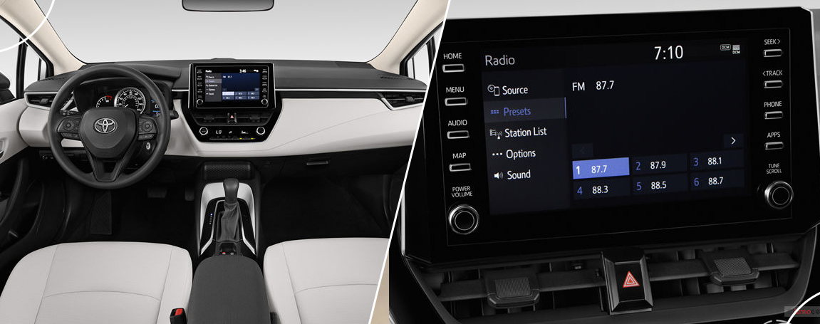 Toyota Corolla 2021 - Infodivertissement