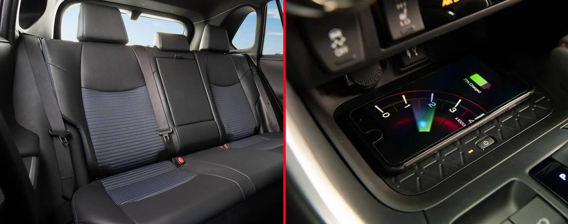 Toyota Rav4 Hybrid 2021 - Équipement et accessoires