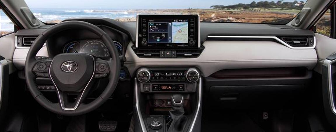 Toyota Rav4 Hybrid 2021 - Infodivertissement