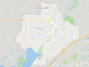 Directions from St Albert