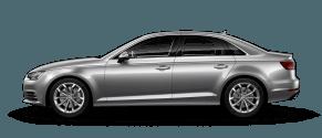 Audi A4 near Langley