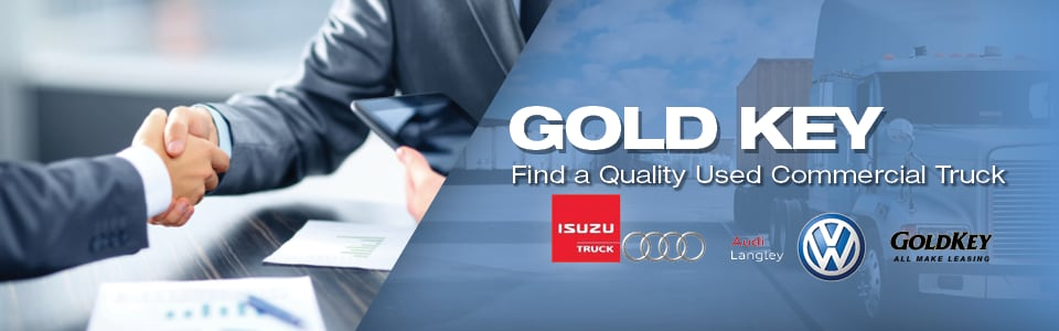 Used Commercial Truck Dealership in Surrey, BC | Goldkey