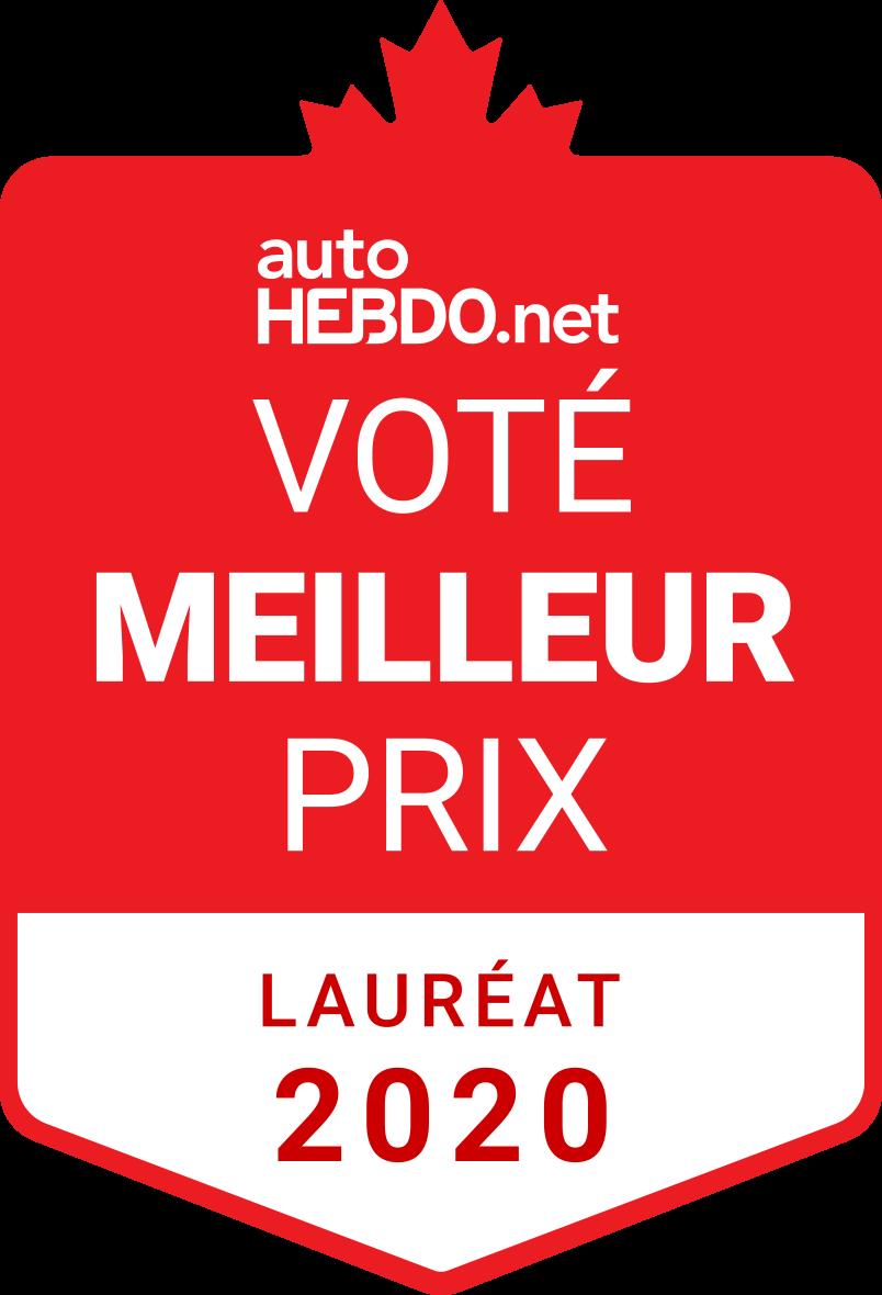 Prix Voté meilleur prix 2020